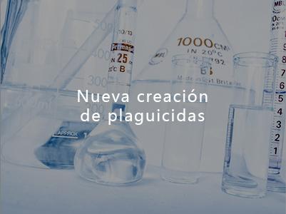 Nueva creación de plaguicidas