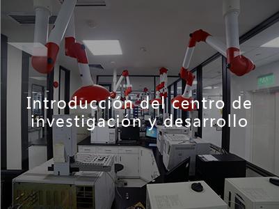 Introducción del centro de investigación y desarrollo