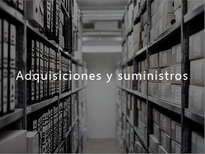 Adquisiciones y suministros